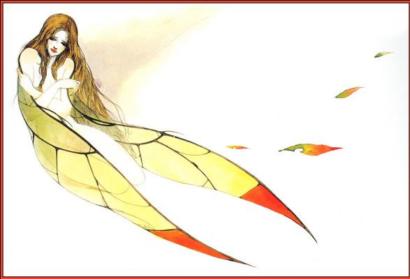 Yoshitaka Amano. Longing