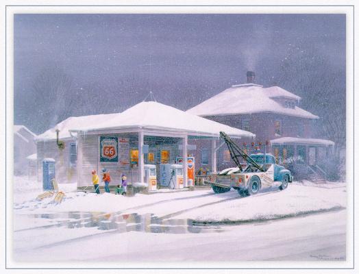 Фрэнк Лоудин. Снег