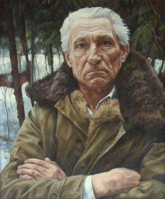 Oleg Borisovich Zakharov. Portrait Of Ivan Ivanovich Mironov.