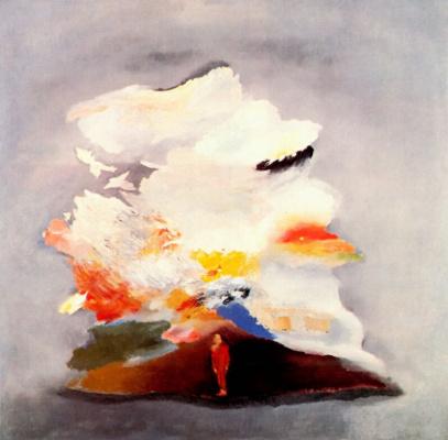 Владимир Никитин. Мужчина и облако