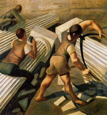 Stanley Spencer. Columns