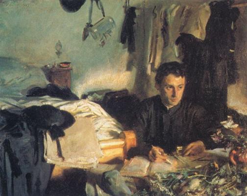 John Singer Sargent. Padre Sebastian