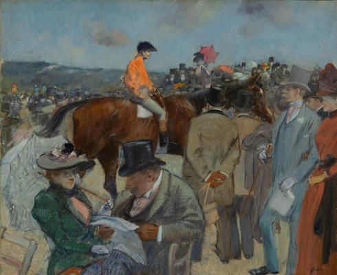 Jean-Louis Foren. Horse racing