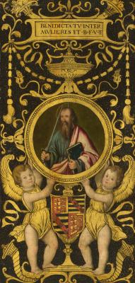 Антонио де  Соларио. Святой Урсула