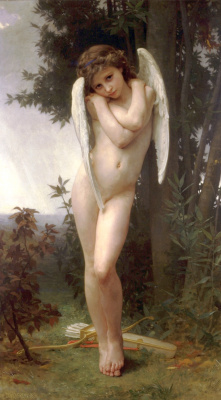 William-Adolphe Bouguereau. Wet Cupid