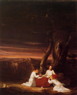 Thomas Cole. The Service Of Christ