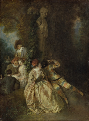 Antoine Watteau. The triumph over great