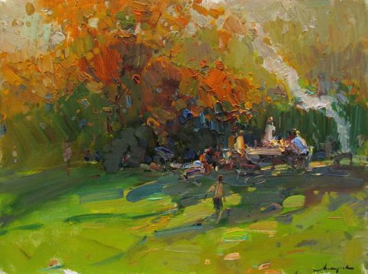 Виталий Валерьевич Макаров. Autumn picnic.