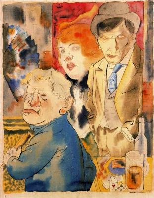 George Grosz. Anger