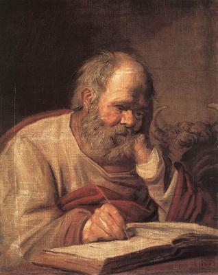Frans Hals. Saint Luke