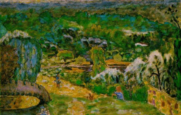 Pierre Bonnard. Spring landscape