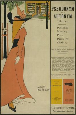 Обри Бердслей. Библиотеки псевдонимов и автонимов (обложка)