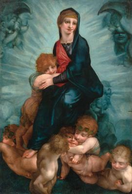 Fiorentino Rosso. Madonna in glory