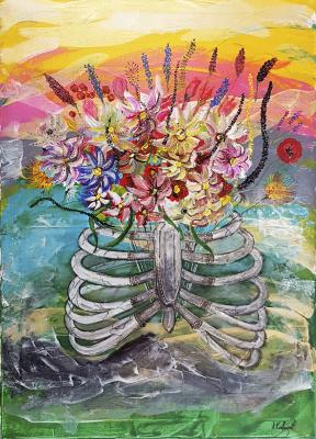 Alexandra Knabengoff. Chest flower