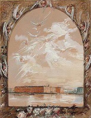 Elizaveta Merkurevna Böhm (Endaurova). The Views Of St. Petersburg