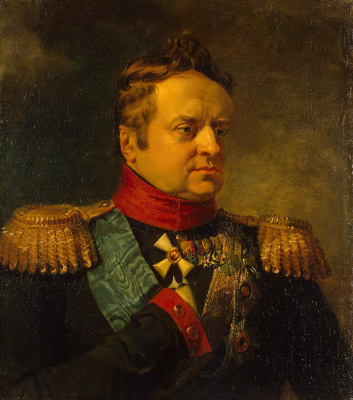 George Dow. Portrait of Prince Alexander of württemberg