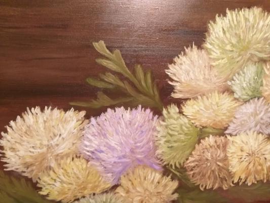 Valeria Kostromina. Chrysanthemums