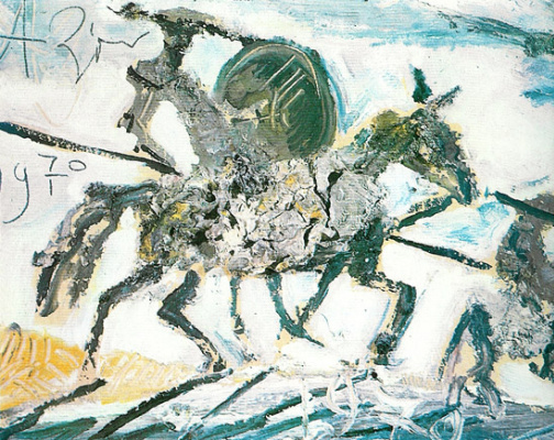 Anatoly Zverev. Don Quixote and Sancho Panza