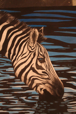 Eduard Alekseevich Titov. Zebra...