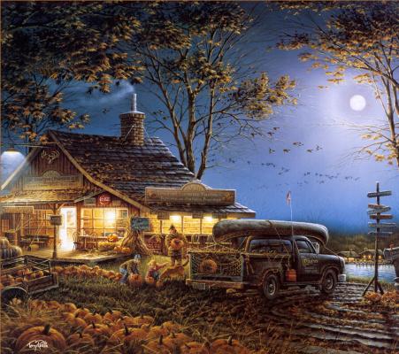 Терри Редлин. Осень