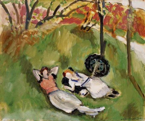 Henri Matisse. Two lying women