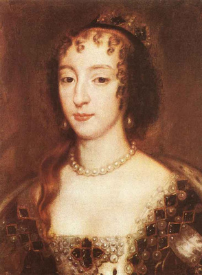 Sir peter leli. French Henrietta Maria, Queen of England