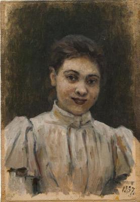 Vasily Ivanovich Surikov. Portrait Of O. V. Surikova