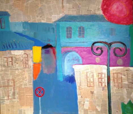 Намиг Мамедов. Синий город