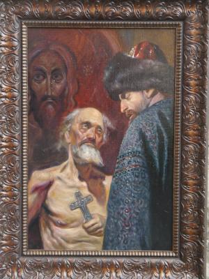 Игорь Токарев. Василий блаженный и Иван Грозный