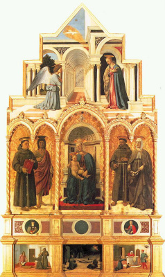 Piero della Francesca. Polyptych Of St. Anthony