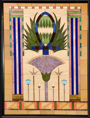 Boris Lazarevich Oshkukov. Egypt, Florentine mosaic
