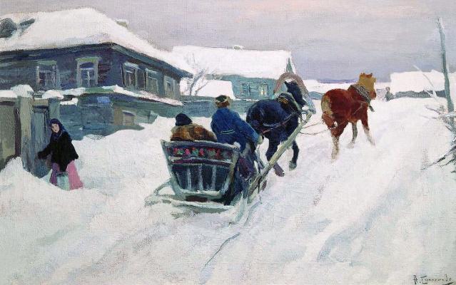 Алексей Степанович Степанович (1858-1923). Глухая провинция. 1900-е