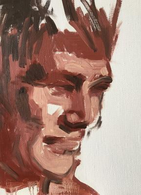 Pavel Kamyshnikau. Artist (A-Portrait)