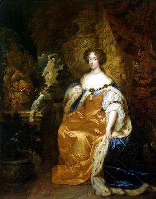Caspar Necher. Portrait of Maria II Stuart