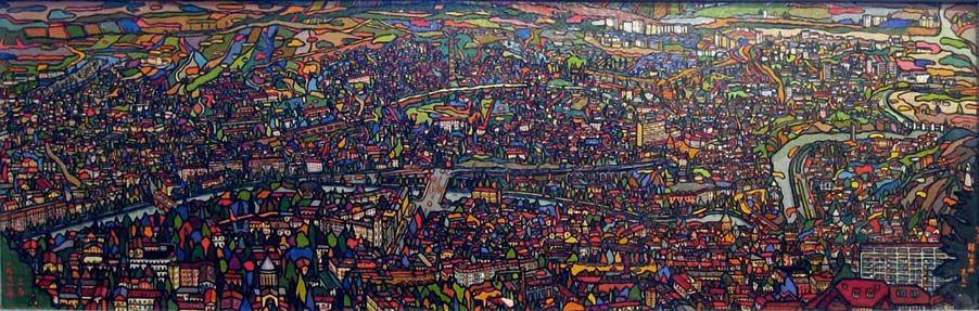 Андрей Владимирович Хан. Панорама Тбилиси