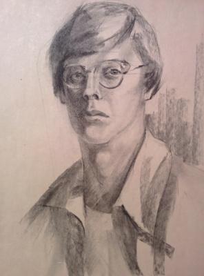 Дмитрий Аркадьевич Лаптев. Автопортрет