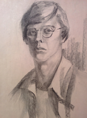 Dmitry Arkadevich Laptev. Self-portrait