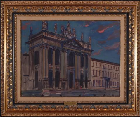 Alexander Mikhailovich Gerasimov. San Giovanni. Rome.