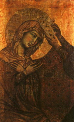 Дуччо ди Буонинсенья. Коронация Девы Марии