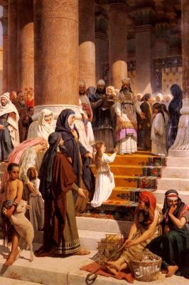 Проспер Пьятти. Во храм Пресвятой Богородицы