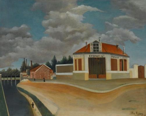 Анри Руссо. Мебельная фабрика в Альфорвиле