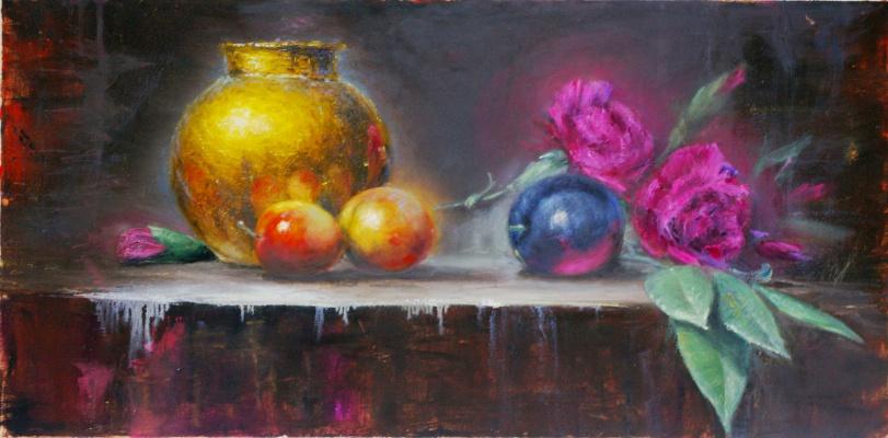 Наталия Багацкая. Still Life with Carnation