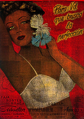 Кармен Роиг. Девушка с цветами в волосах