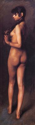 John Singer Sargent. Nude Egyptian girl