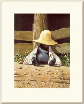 Барри Мосер Брер. Желтая шляпа