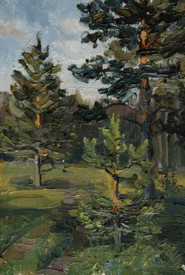 Svetlana Holodnyak. Pine edge