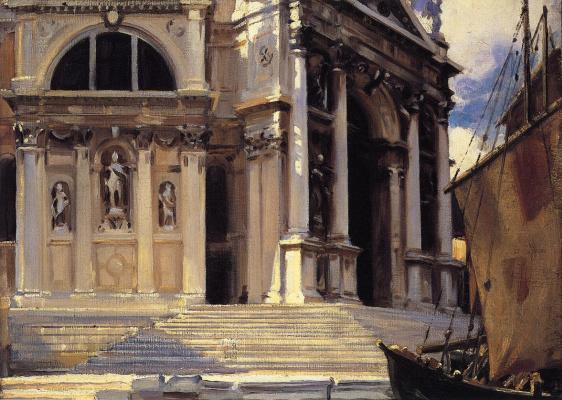 John Singer Sargent. Santa Maria della Salute