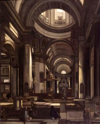Emmanuel de Witte. Interior