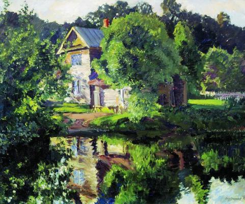 Sergey Arsenievich Vinogradov. Summer landscape. Tofino