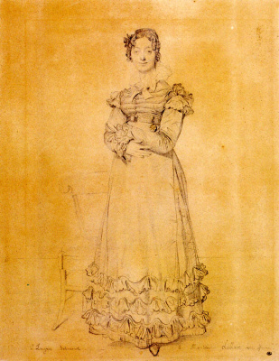 Jean Auguste Dominique Ingres. Mrs. Louis LeBlanc
